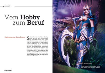 Vom Hobby zum Beruf - Ein Interview mit Kamui Cosplay