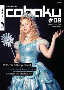 "Cohaku #08 Cover - Fotograf: Loan ""Kazenary"" Ta Model: Dóra ""Elyon Cosplay"" Varga Charakter: Glinda (Wicked)"
