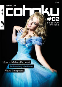 Cohaku #02 - The Cosplay Magazine - Cover