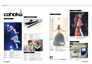 Cohaku #02 - The Cosplay Magazine - Table of Contens