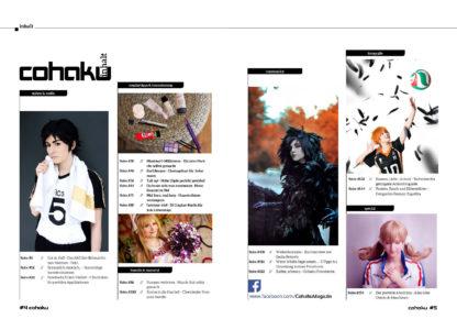 Cohaku #10 - Inhaltsverzeichnis