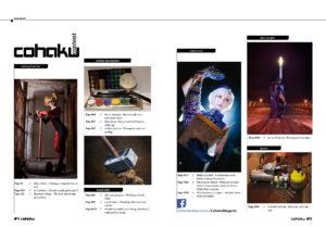 Cohaku #03 - The Cosplay Magazine - Content