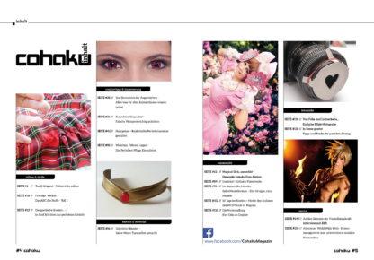 Cohaku #04 - Inhaltsverzeichnis