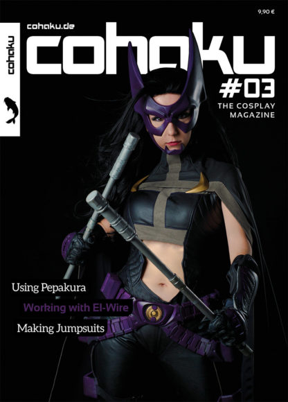 Cohaku #03 - The Cosplay Magazine - Cover