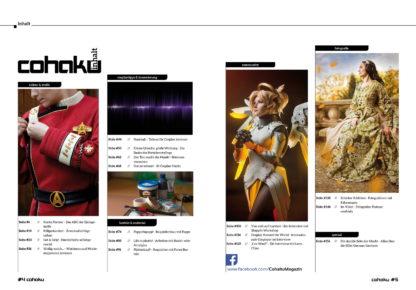 Cohaku #13 - Inhaltsverzeichnis