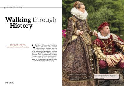 Historisch akkurate Kostüme