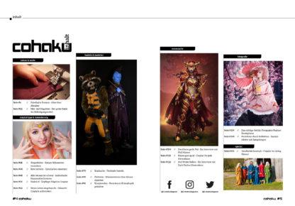 Inhaltsverzeichnis Cohaku #19