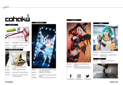 Cohaku #22 - Inhaltsverzeichnis